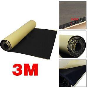 3m mousse ponge adh sif voiture acoustique insonorisation isolation fr ebay. Black Bedroom Furniture Sets. Home Design Ideas