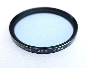 52mm Soligor 82A Filter - Cooling Color Correction - NEW