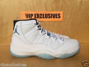 04217d7d8daae Nike Air Jordan XI Retro 11 Legend Blue GS Columbia White 378038-117 ...