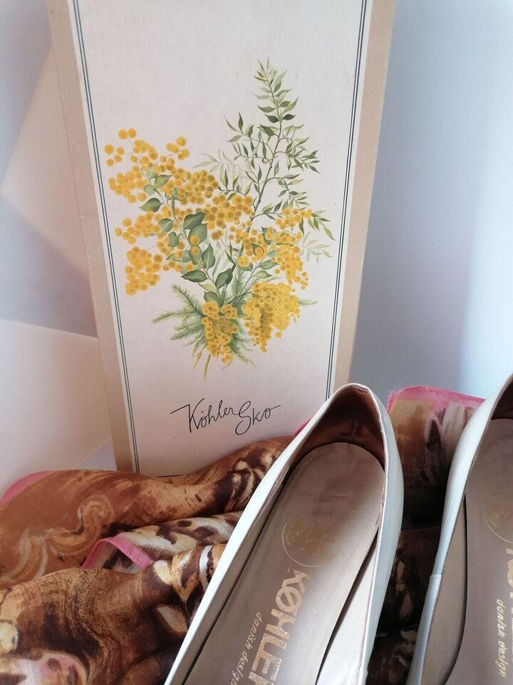Pumps, str. 39,5, Vintage Køhler sko