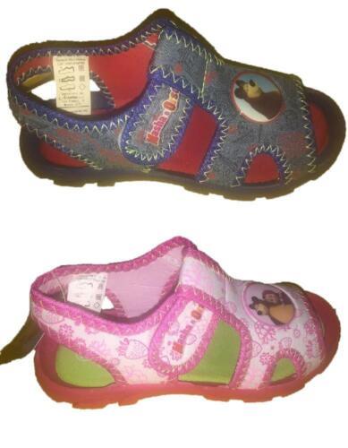 Sandali da bambini Masha e l/'orso *24144 Calzature Cartoni Animati