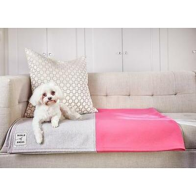 World Of Angus Anti-Microbial Water Repellant Micro Fleece Dog Blanket