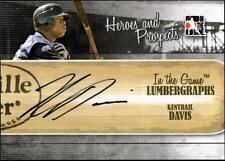 ET 2011 ITG Heroes and Prospects Lumbergraphs Autographs Kentrail Davis HN