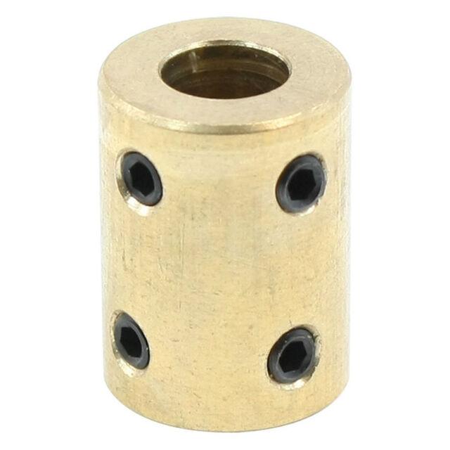 Robot shaft 8mm coupler copper motor rigid coupling tight screws P2T8