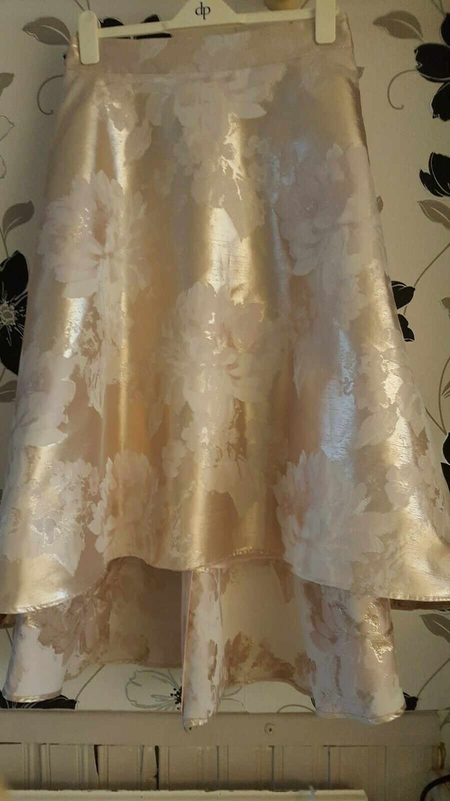 Next High Low Champagne coloured Skirt