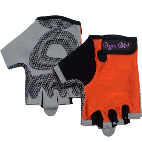 Women/'s Fitness Training Gloves in Sunkissed Orange by Gym Girl