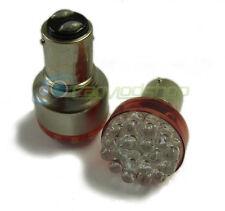 1157 380 Bay15D Red 19 LED Stop Tail Twin Filament Brake Parking Lighting Brakin