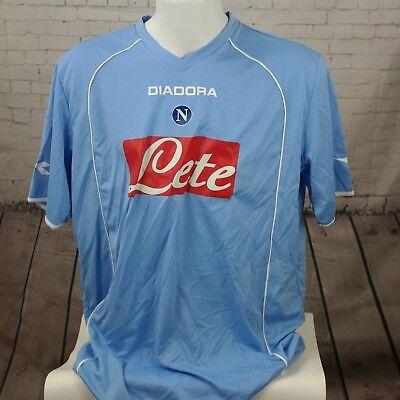 Maglia Calcio Azzurra NAPOLI Taglia XXL NUOVA DIADORA Ultras T shirt Vintage SSC | eBay