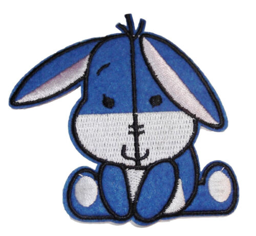 """Disney/'s Baby Eeyore Character 3/"""" Wide Embroidered Patch"""