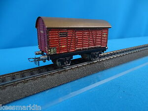 Marklin 381 Closed goods Car Tin Plate. Version 5 1940
