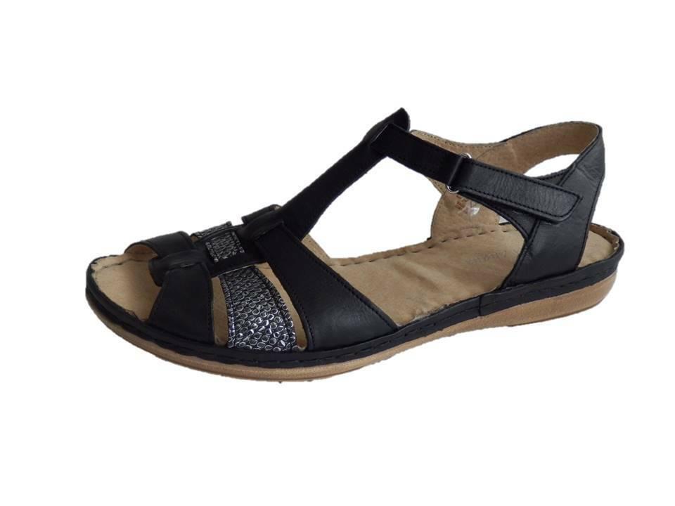 Hoeltzhaus Sandales noir Largeur G Taille 37 38 39 40 42