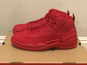 buy popular 4aaf1 0d48b Details about Unreleased Nike Air Jordan 12 XII Retro Bulls 8-13 Gym Red  Black Toro 130690-601