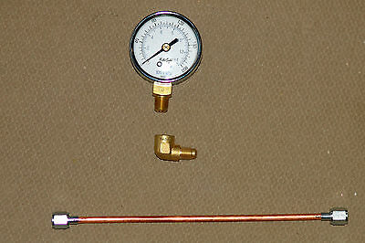 not for Riello Universal Oil Burner Pressure Test Gauge with 90° ELBOW adaptor