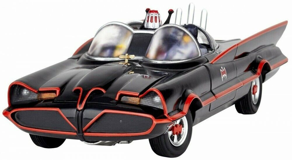 Figure complex Movie Revo Series No.005 Batmobile 1966 Batman Car DC Kaiyodo