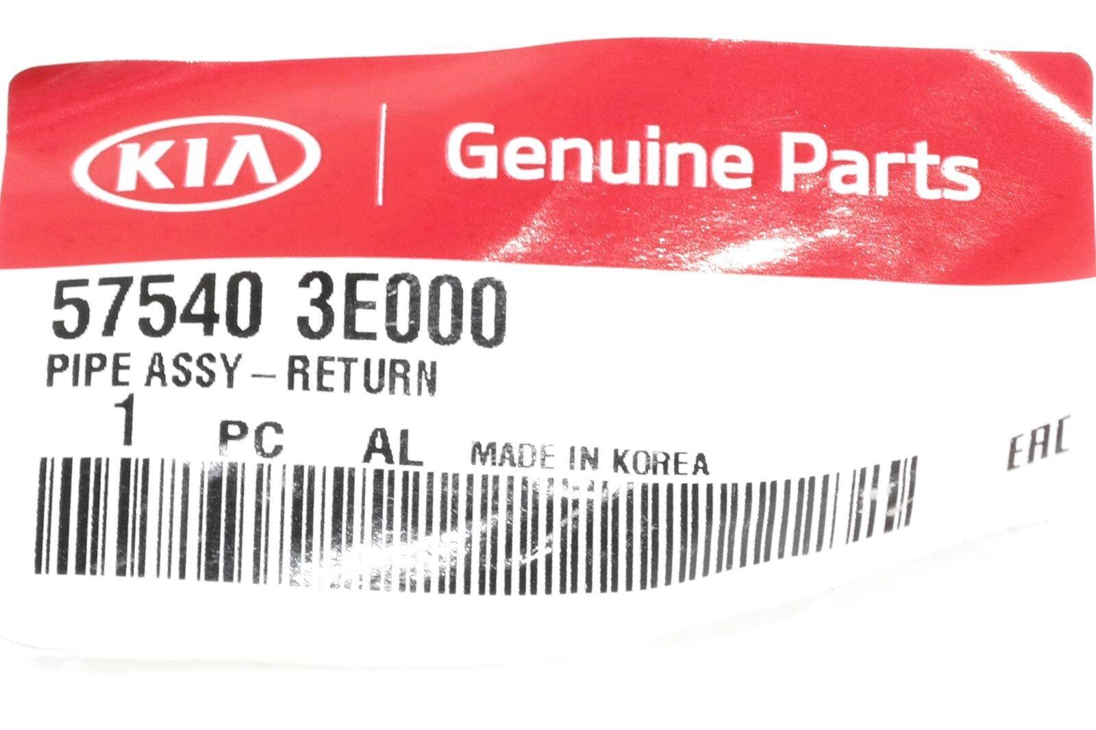 KIA OEM 03-06 Sorento-Power Steering Return Hose 575403E000