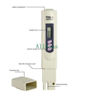 Water PH Meter TDS LCD Tester Lab//PH Digital Pen For Aquarium Pool Hydroponic