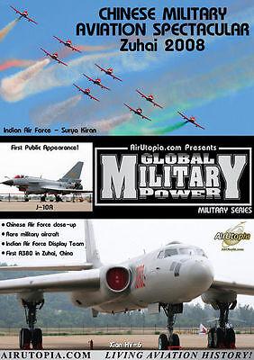 Chinese Military Aviation Airshow Zuhai 2008 DVD