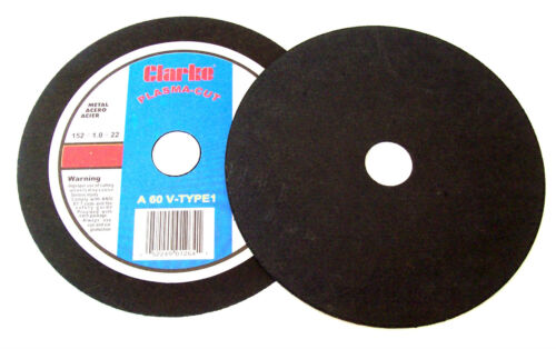 """25 CLARKE 6/"""" x .040 PLASMA CUT OFF WHEELS AB2528 FIT BOSCH GRINDER GRINDING INCH"""