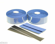 Road Bike Bicycle Blue Cork Handlebar Tape with End Plugs MSRP $17.99 NEW