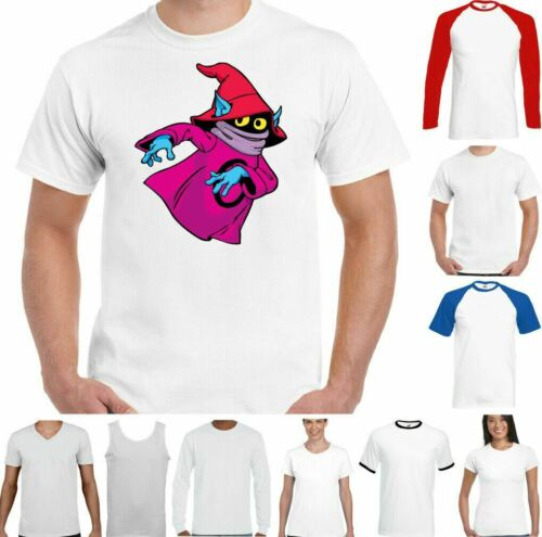 He Man T-Shirt Orko Herren Lustige Masters Of The Universe Top Skeletor Battle