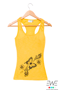 Canotta butterfly EWE yellow SALES