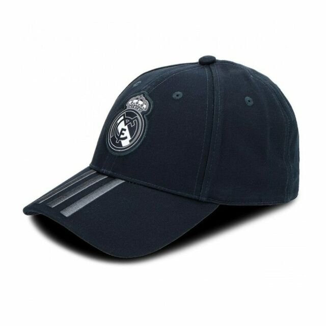 a5347fe5680a4 Real Madrid 3 Stripe Cap Dark Grey Unisex adidas for sale online