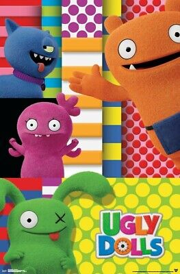 UGLY DOLLS CHARACTERS MOVIE POSTER 22x34-17387