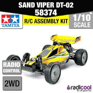 58374-Tamiya-Sand-Viper-dt-02-Tuned-2wd-1-10th-R-C-KIT-FUNKSTEUERUNG-1-10-Buggy