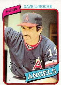 trading card Topps ANGELS  1980 DAVE LaROCHE #263