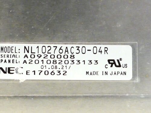 NL10276AC30-04R NEC LCD Panel Ships from USA
