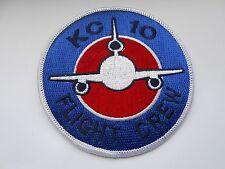 RAF/USAF squadron cloth patch  kc10 flight crew