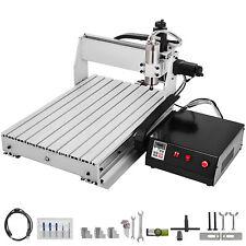 3axis Cnc Router Kit 6040 24000rpm Usb 3d Engraving Milling Machine Pcb 800w Vfd