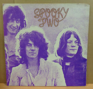 SPOOKY TOOTH SPOOKY TWO OG UK PINK WHITE I ISLAND LP ILPS9098 GATEFOLD MINT