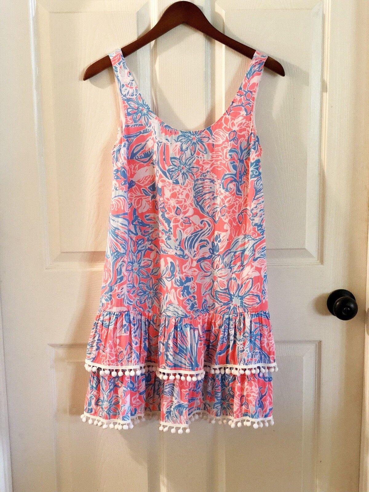 LILLY PULITZER Natashia Dress in Summer Siren Size XXS