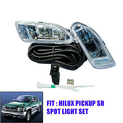 FIT 2004 05 06 07 Toyota Hilux SR Vigo Fog Lamp Spot Light Kit Ute Pickup