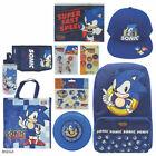 Sonic The Hedgehog Showbag W/backpack/bottle/stickers/tote Bag/pencil Case/cap