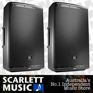 2x-JBL-EON-615-Powered-Speaker-15-Inch-15-039-039-1000W-EON615-w-3-Years-Warranty