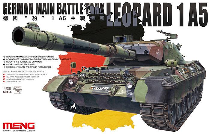 Meng Model 1 35 Leopard 1 A5 German Main Battle Tank.  TS-015