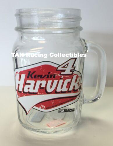 Kevin Harvick Hunter Mfg 2015 #4 Mason Jar Glass Mug 16oz FREE SHIP!!