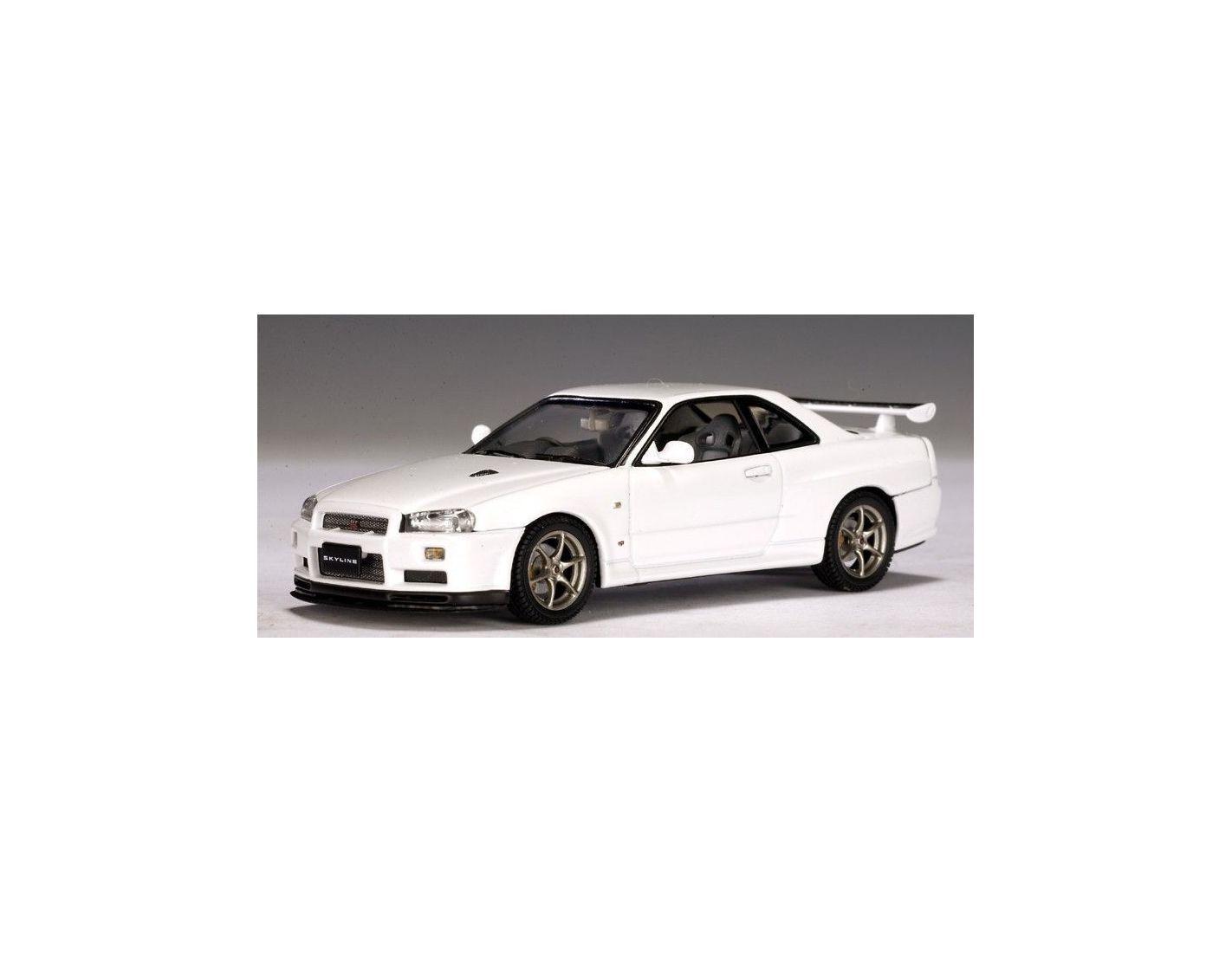 Auto Art   Gateway 57333 NISSAN SKYLINE R34 GTR-V SPEC.1 43 Modellino
