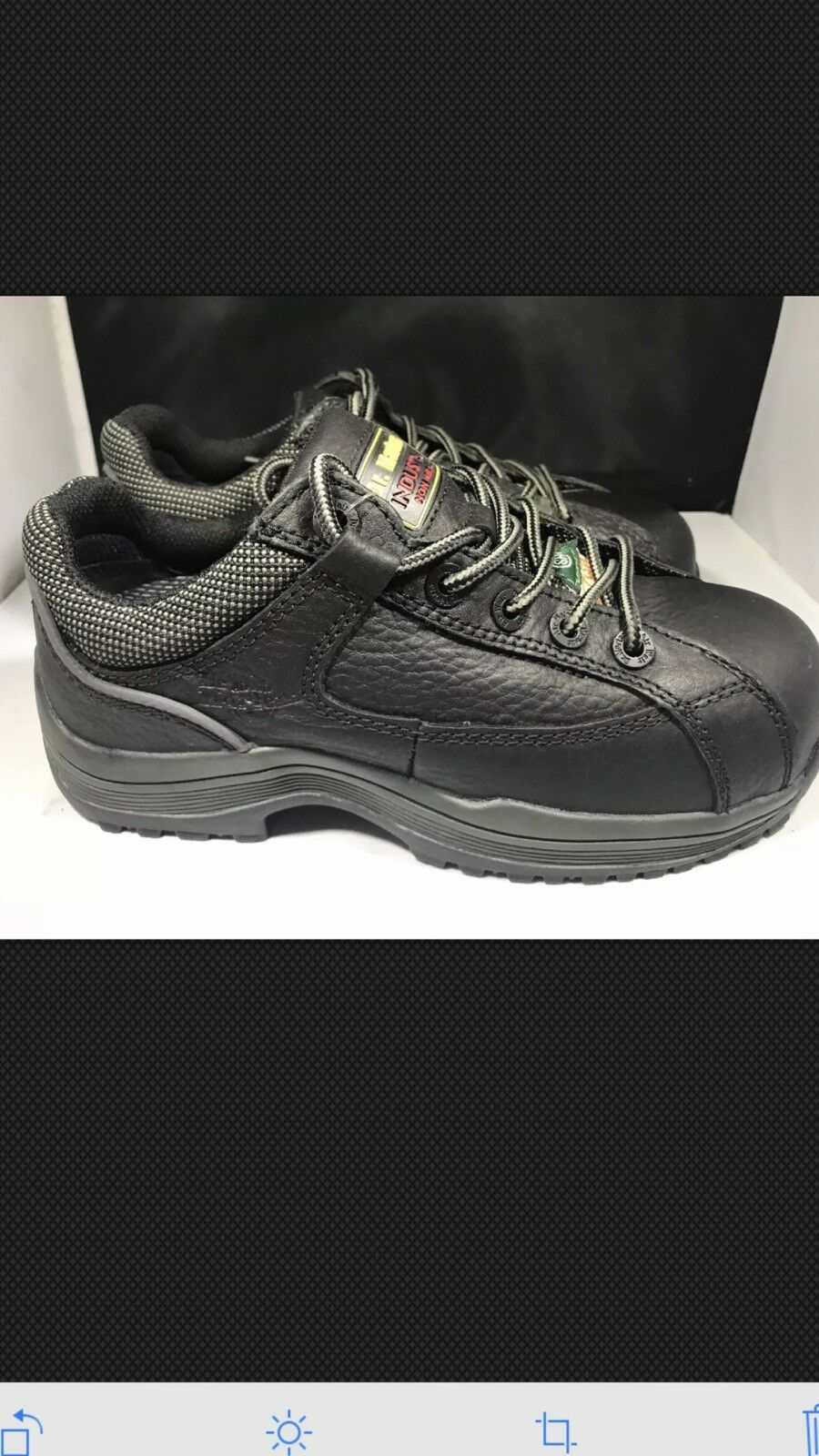 Dr Martens Womens work composite toe shoes size 6 uk4 A75 ( G63)