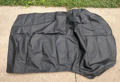 VW Volkswagen Beetle 1973-1979 Convertible Soft Top Black Stayfast Cloth