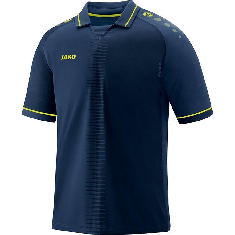 Jako Football Soccer Mens Short Sleeve SS Jersey Shirt Top Training Sports Dark