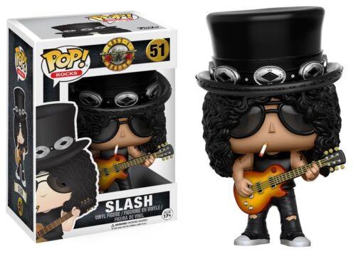 Rocks Slash Vinyl Figure #51 Guns N Roses Funko POP