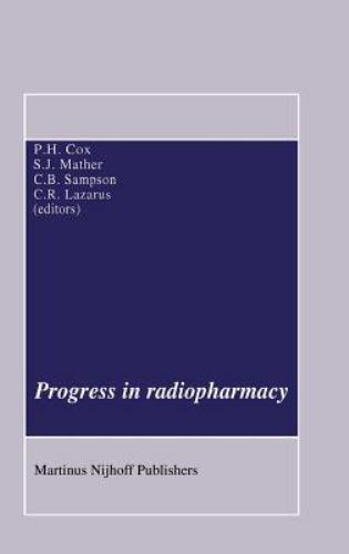 Developments in Nuclear Medicine: Progress in Radiopharmacy 10 (1986, Hardcover)