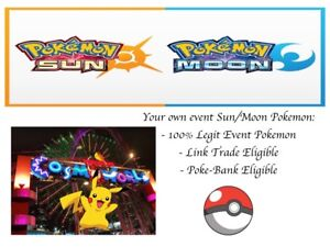 Details about Pokemon Ultra Sun and Moon Cosmo World Pikachu Event Pokemon  With Special Moves