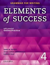 Elements of Success, Level 4 by Jenni Currie Santamaria, Mari Vargo, Linda Lee, Randee Falk and Anne M. Ediger (2014, Mixed Media, Student Edition of Textbook)