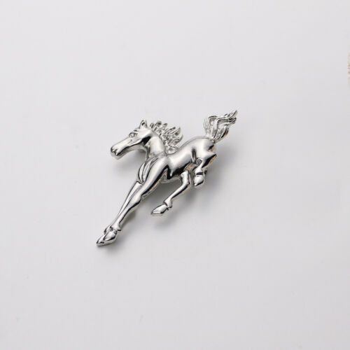 Unisex Tier Pferd Brosche Pin Badge Schmuck Geschenke Geschenke Silber