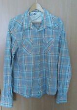 Hollister Pearl Snap Button Shirt Western Long Sleeve Men's XL plaid