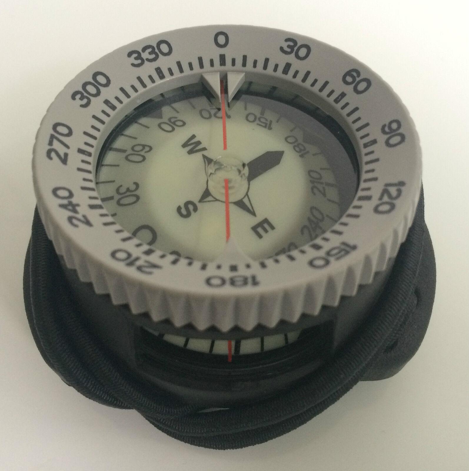 Polaris Taucherkompass Pro Bungee Bungeekompass + - 30° maximale Neigung Compass